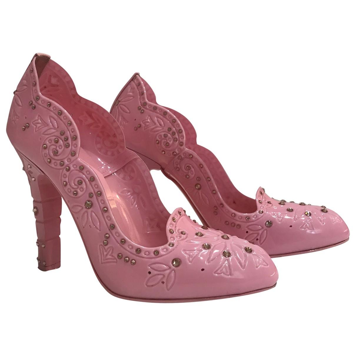 Dolce & Gabbana \N Pink Heels for Women 38 IT