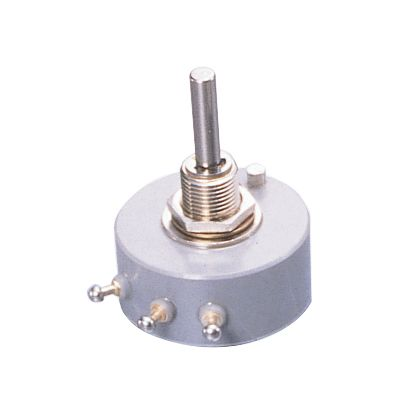 Copal Electronics 1 Gang Rotary Cermet Potentiometer with an 4 mm Dia. Shaft - 1kΩ, ±2%, 1.5W Power Rating, Linear