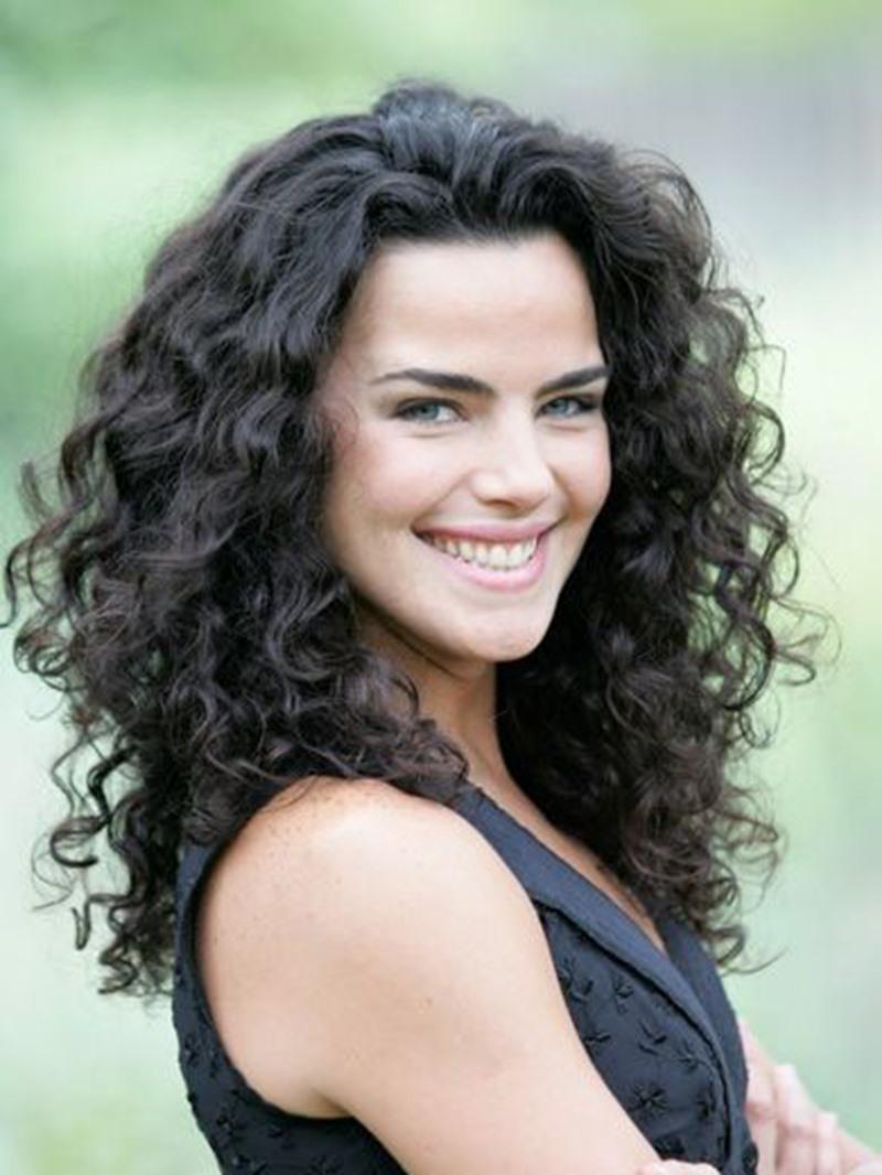 Ericdress Women's Deep Curly Human Hair Extensions 7 Pcs Clip In Human Hair Extensions