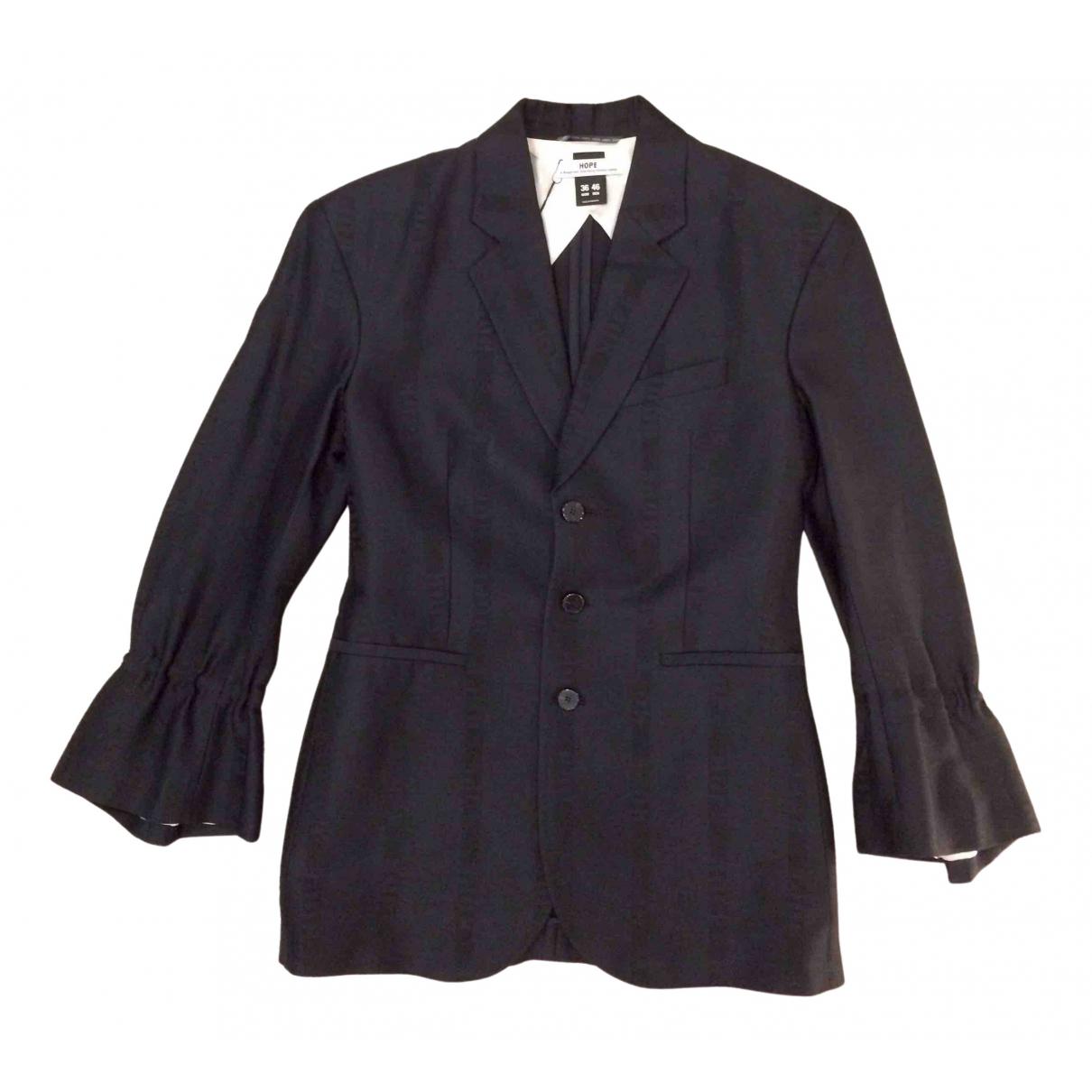 Hope \N Black Cotton jacket for Women 36 FR