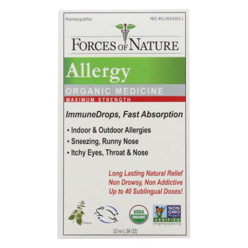 Allergy Maximum Strength 10 ml by Forces of Nature