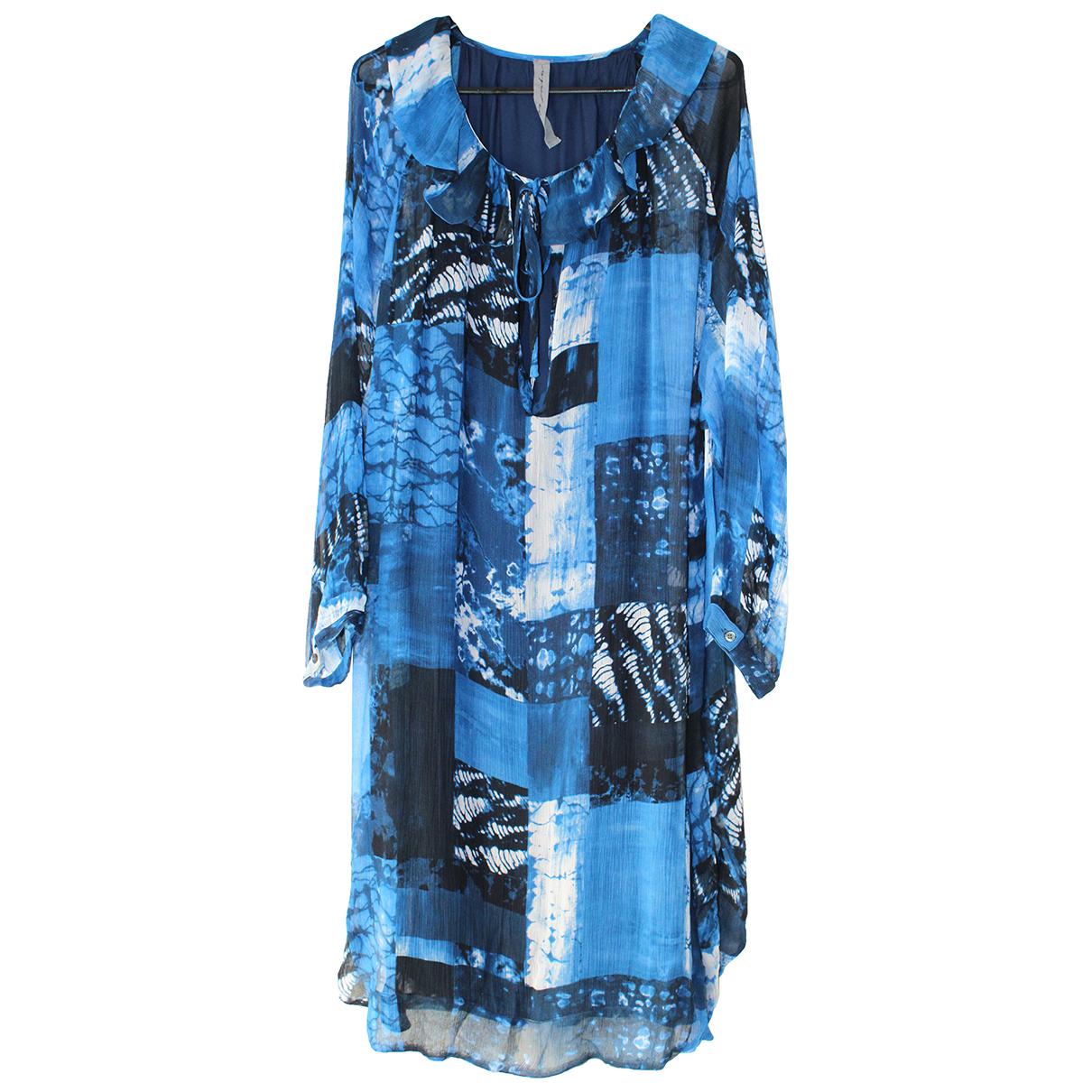 Raquel Allegra \N Blue dress for Women 2 US