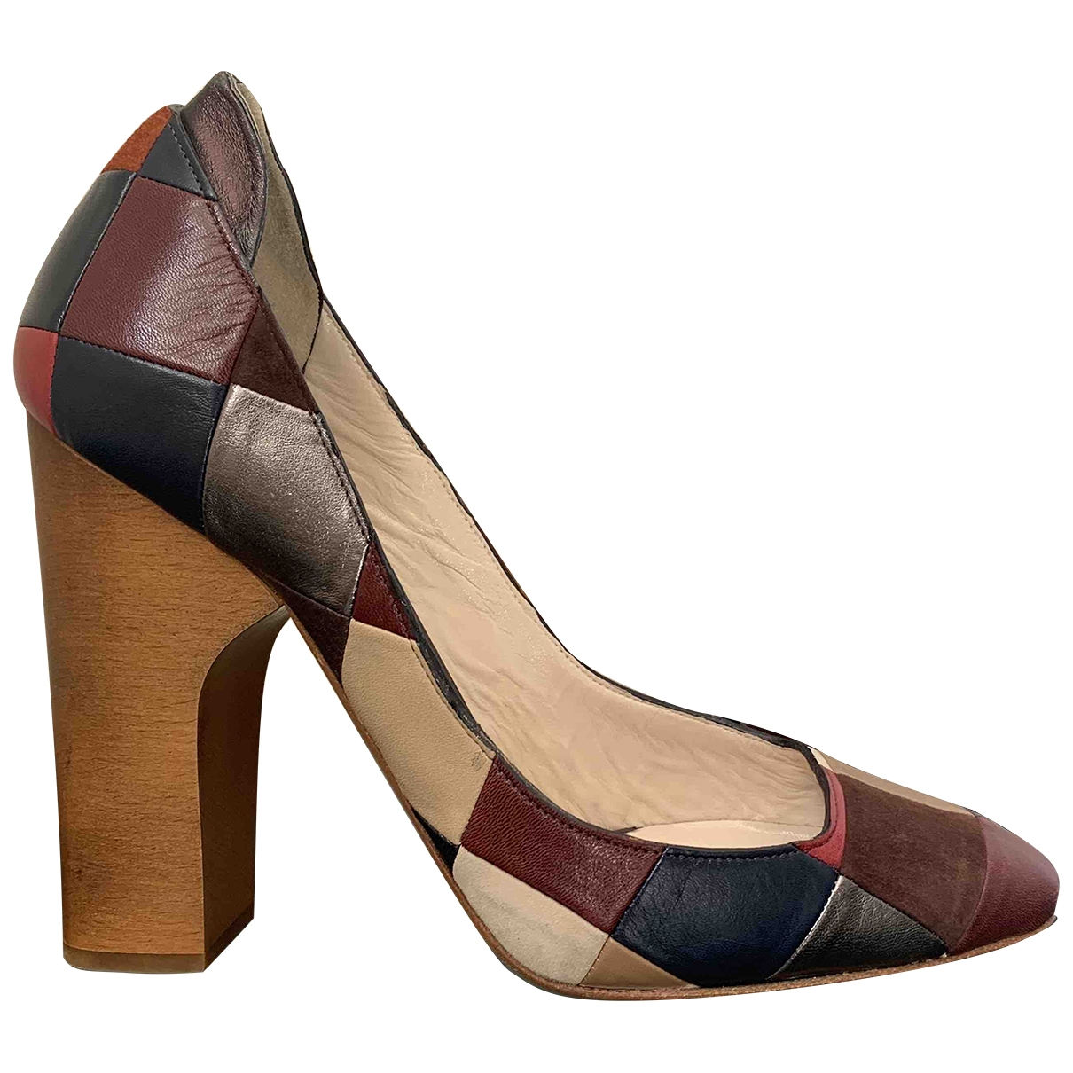 Chloé \N Multicolour Leather Heels for Women 40 EU