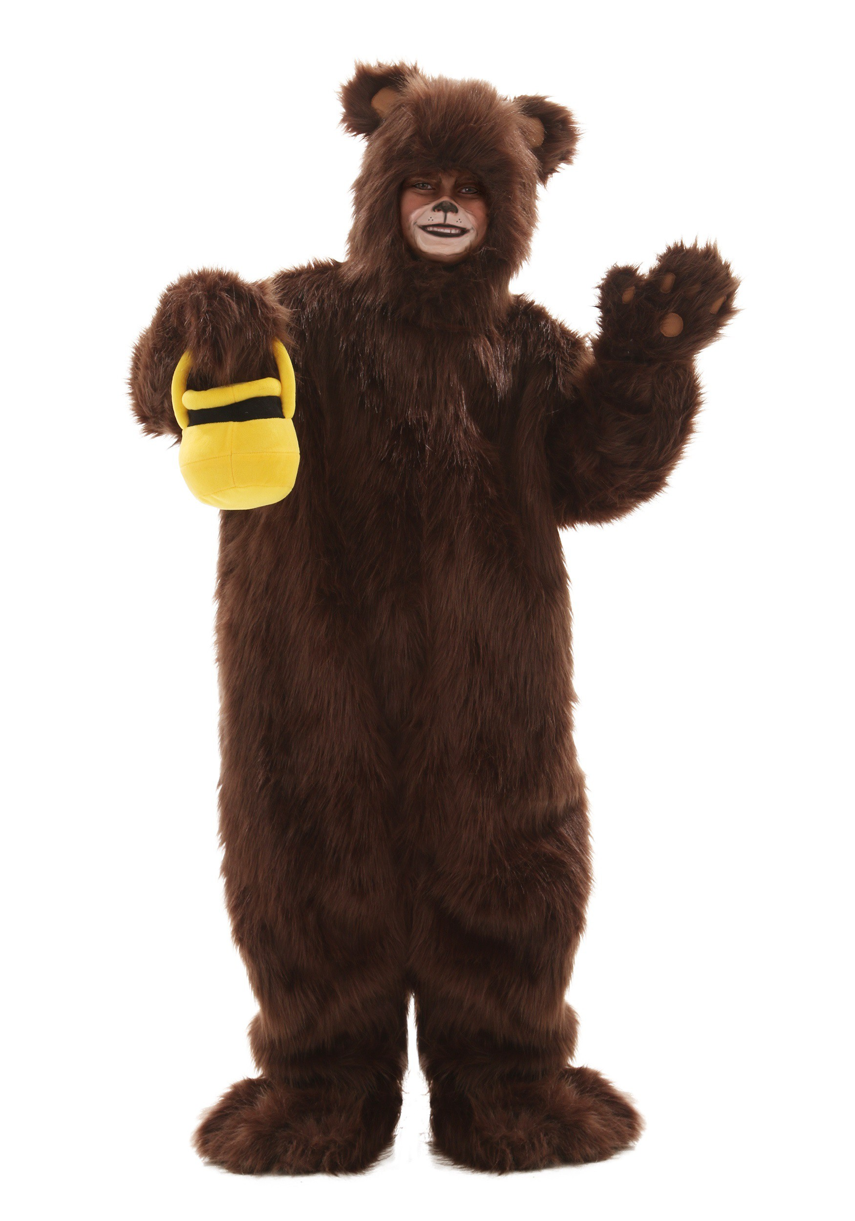 Deluxe Child Furry Brown Bear Costume