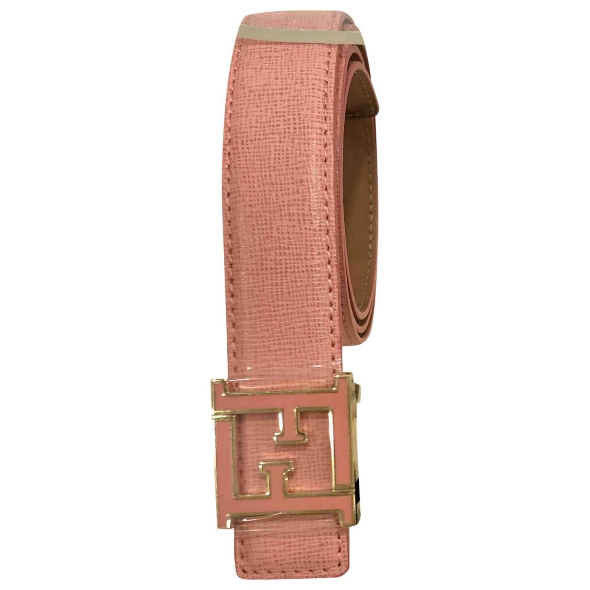 Fendi \N Pink Leather belt for Women 70 cm