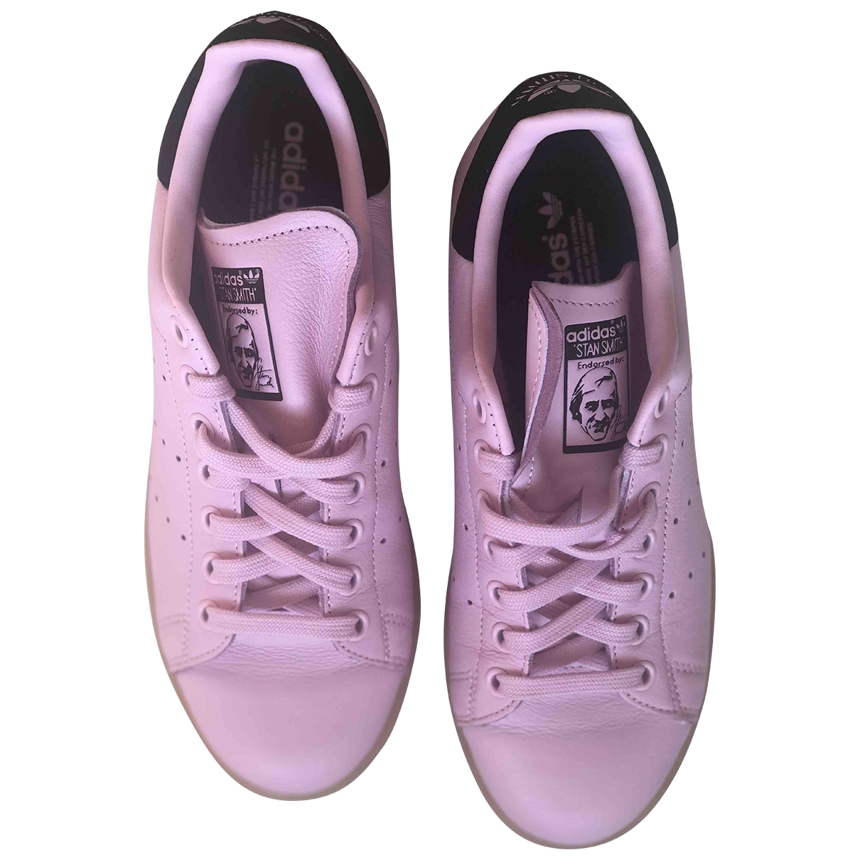 Adidas Stan Smith Pink Leather Trainers for Women 38 EU