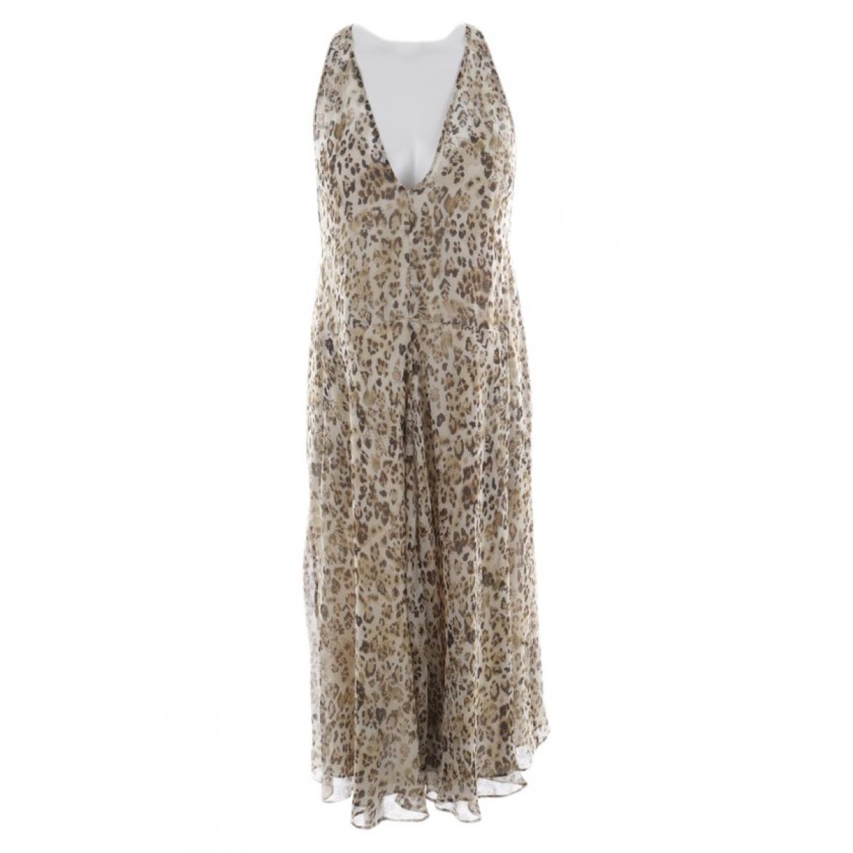 Iro \N Brown Silk dress for Women 34 FR
