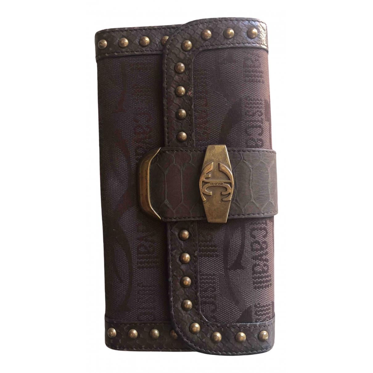 Just Cavalli \N Brown Cloth wallet for Women \N