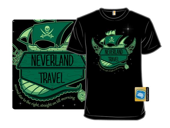 Neverland Travel T Shirt
