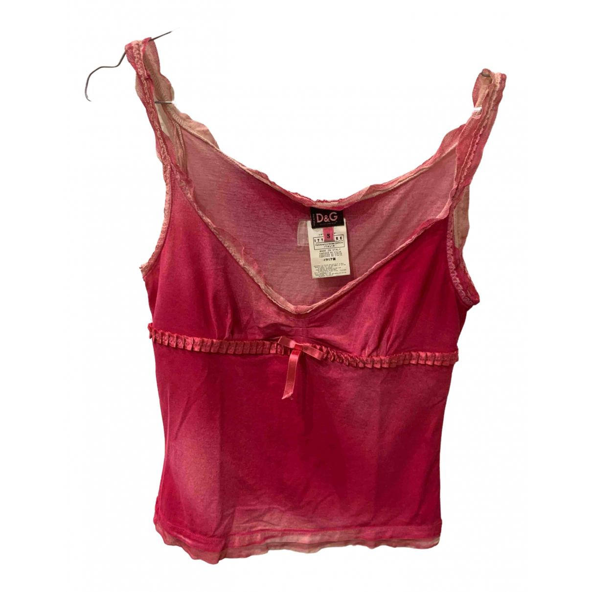 D&g \N Pink Cotton  top for Women S International