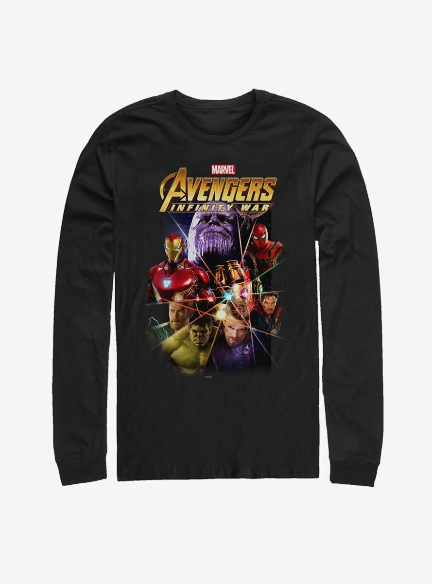 Marvel Avengers: Infinity War Prism Long Sleeve T-Shirt
