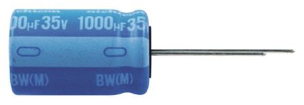 Nichicon 470μF Electrolytic Capacitor 25V dc, Through Hole - UBW1E471MPD (5)
