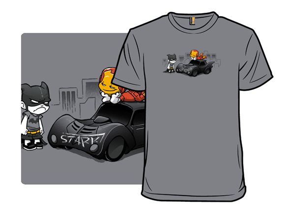 Super Jerk - Car T Shirt