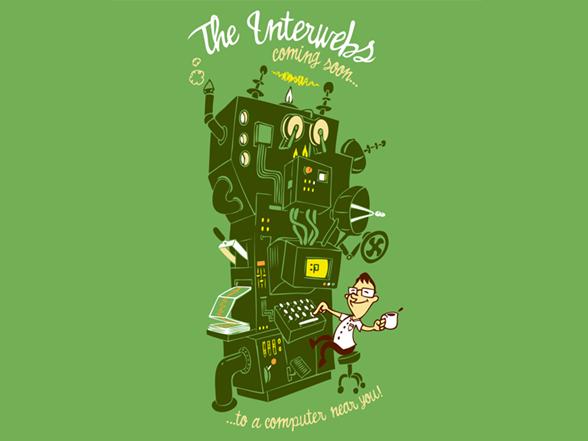 The Interwebs T Shirt