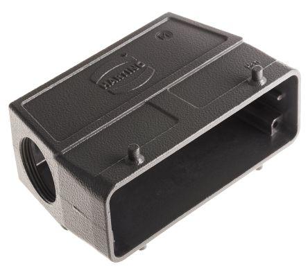 HARTING Han B Series, 24B Side Entry Heavy Duty Power Connector Hood