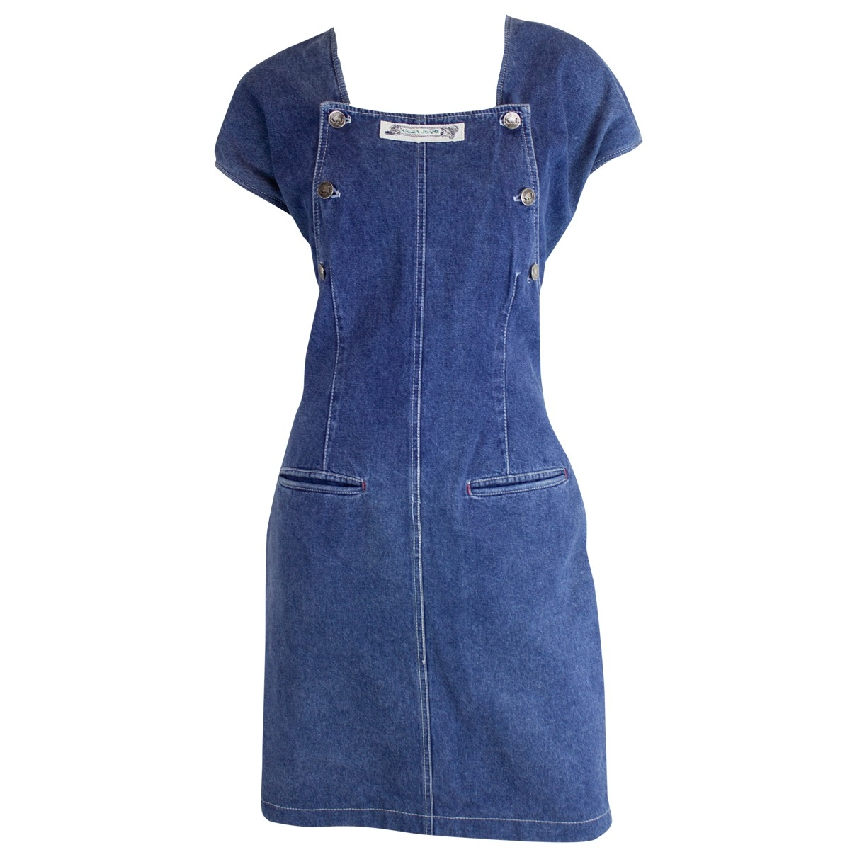 Krizia \N Blue Denim - Jeans dress for Women 16 UK