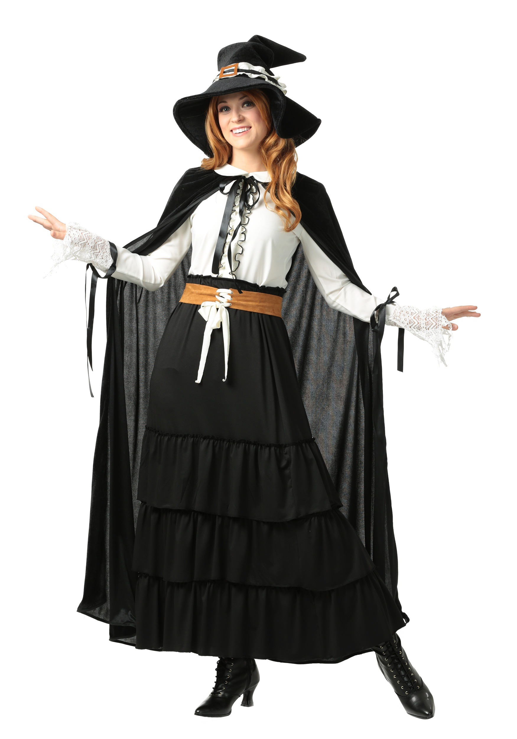 Salem Witch Plus Size Costume for Women