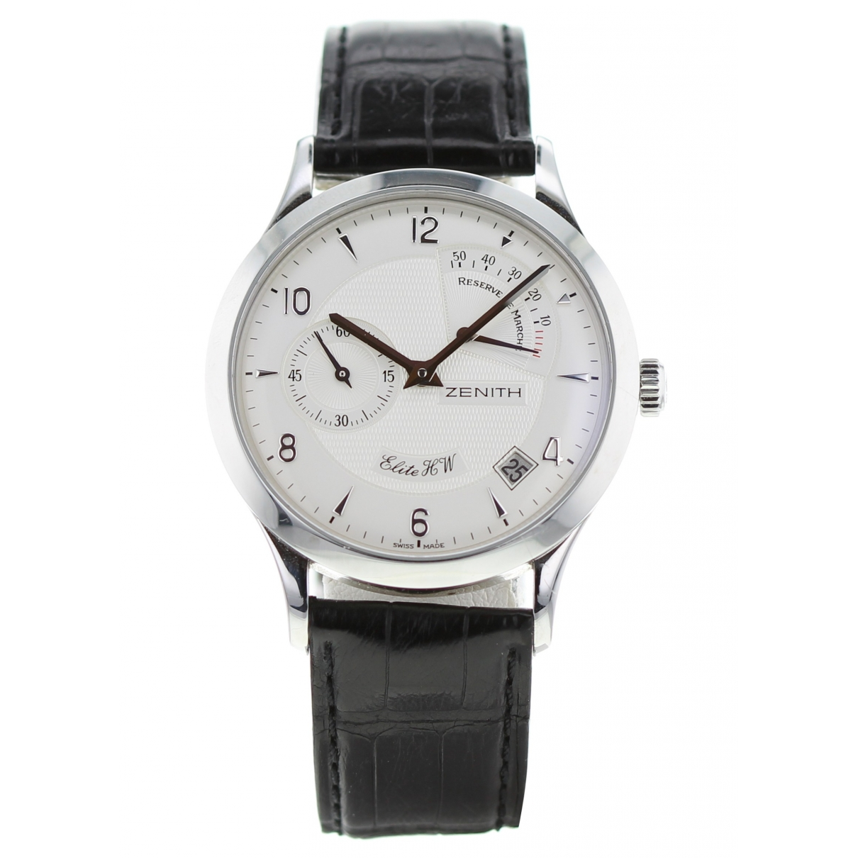 Zenith Elite  Steel watch for Men \N