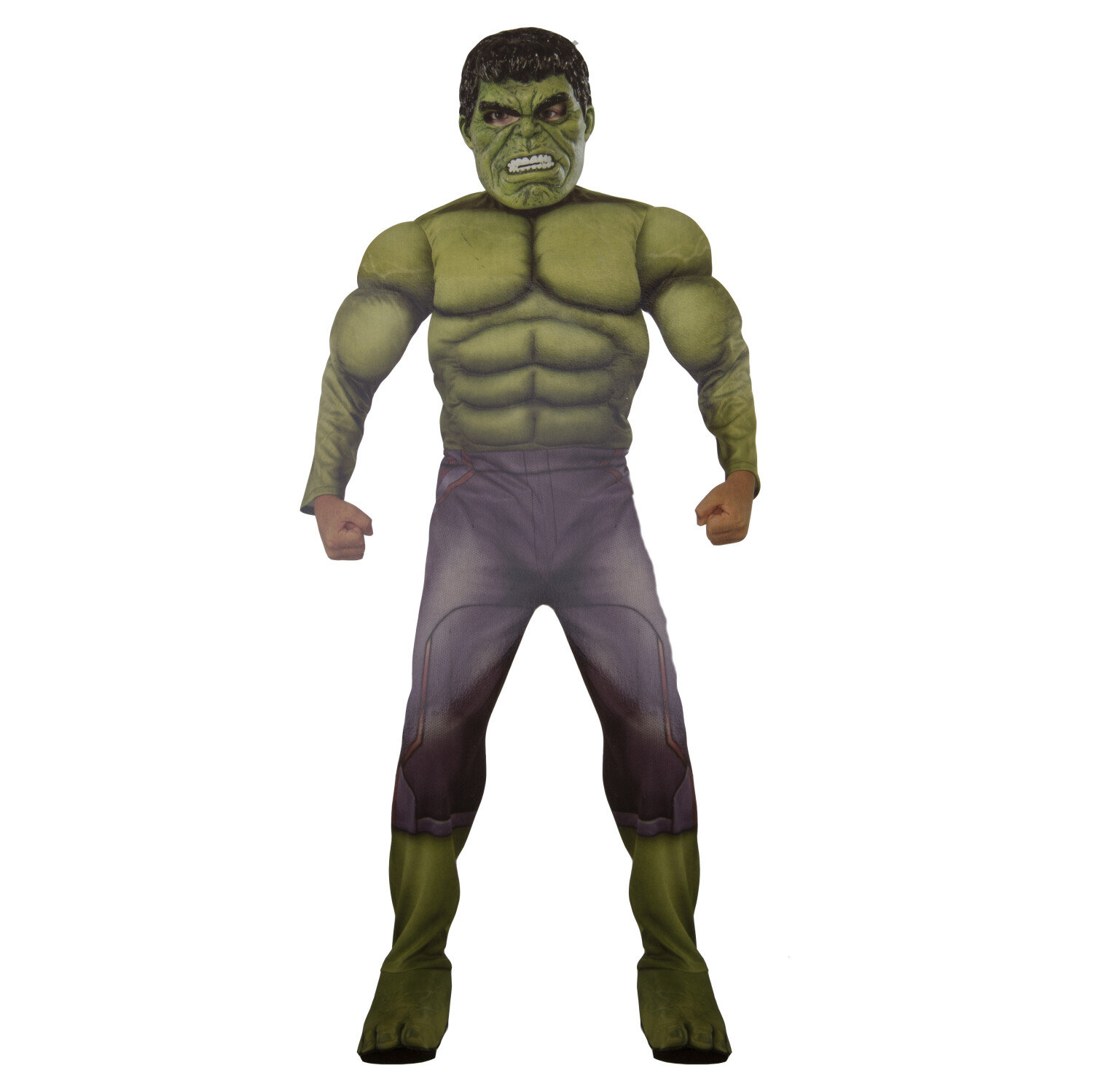 Rubies Costume Co Marvel Deluxe Hulk Avengers Age of Ultron Child Large size 10-12, Age 8-10 - L - Green
