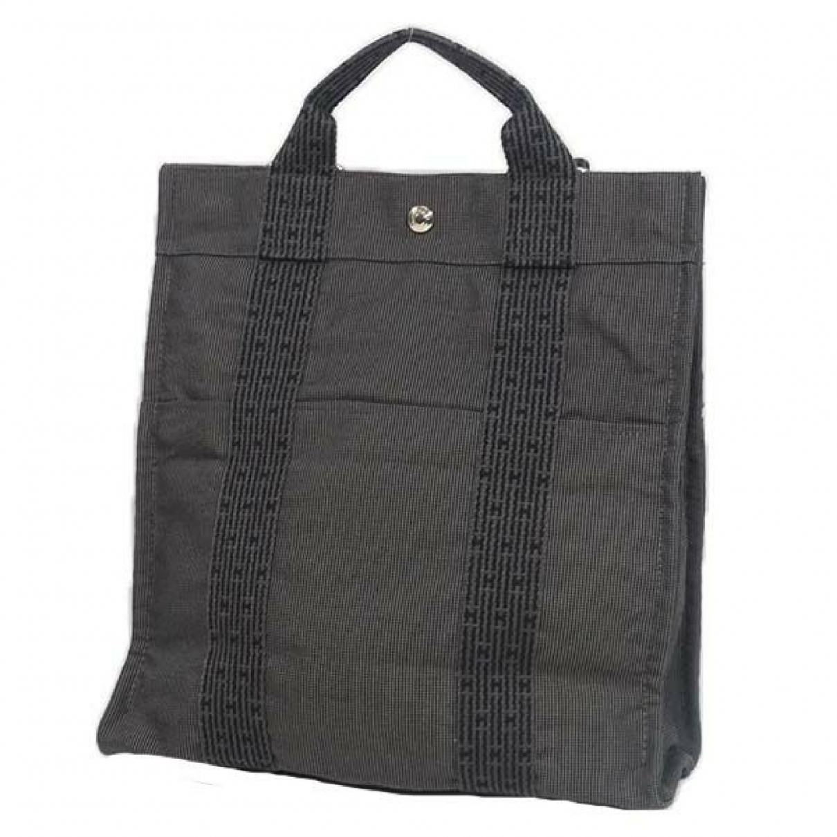 Hermès \N Grey Cloth backpack for Women \N