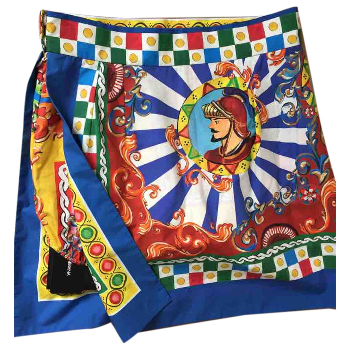 Dolce & Gabbana \N Multicolour Cotton skirt for Women 44 IT