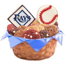 MLB Tampa Bay Rays Cookie Basket