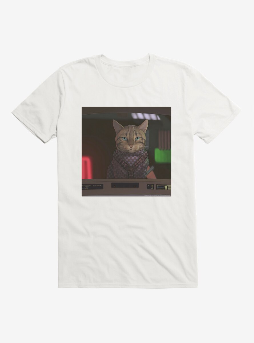 Star Trek The Next Generation Cats Crusher T-Shirt