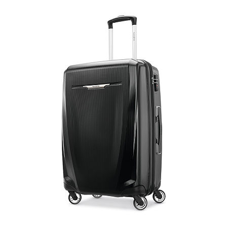 Samsonite Winfield 3 25 Inch Hardside Lightweight Luggage, One Size , Black