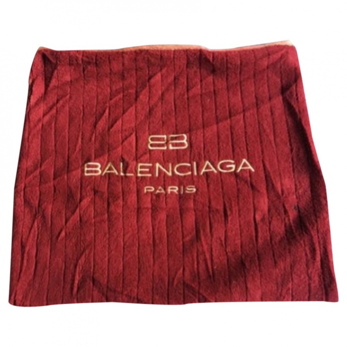 Balenciaga \N Red Cotton Purses, wallet & cases for Women \N