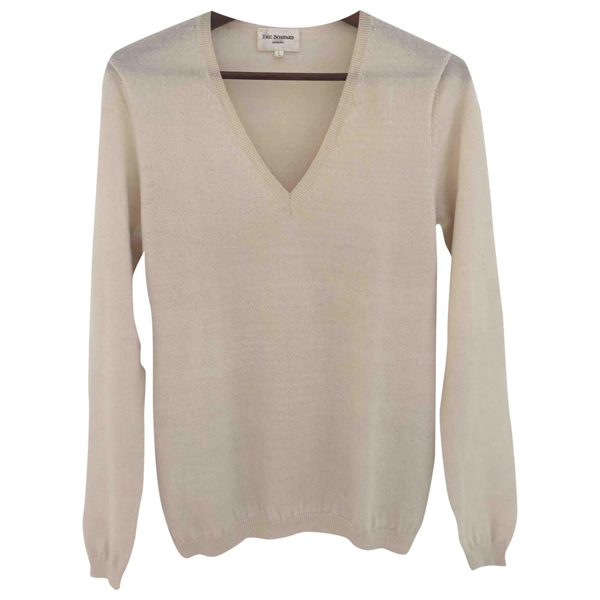 Eric Bompard \N Ecru Cashmere Knitwear for Women 40 FR