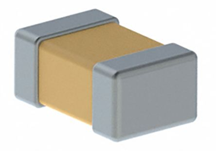 KEMET 0805 (2012M) 1.5nF Multilayer Ceramic Capacitor MLCC 50V dc ±5% SMD C0805C152J5GACTU (4000)