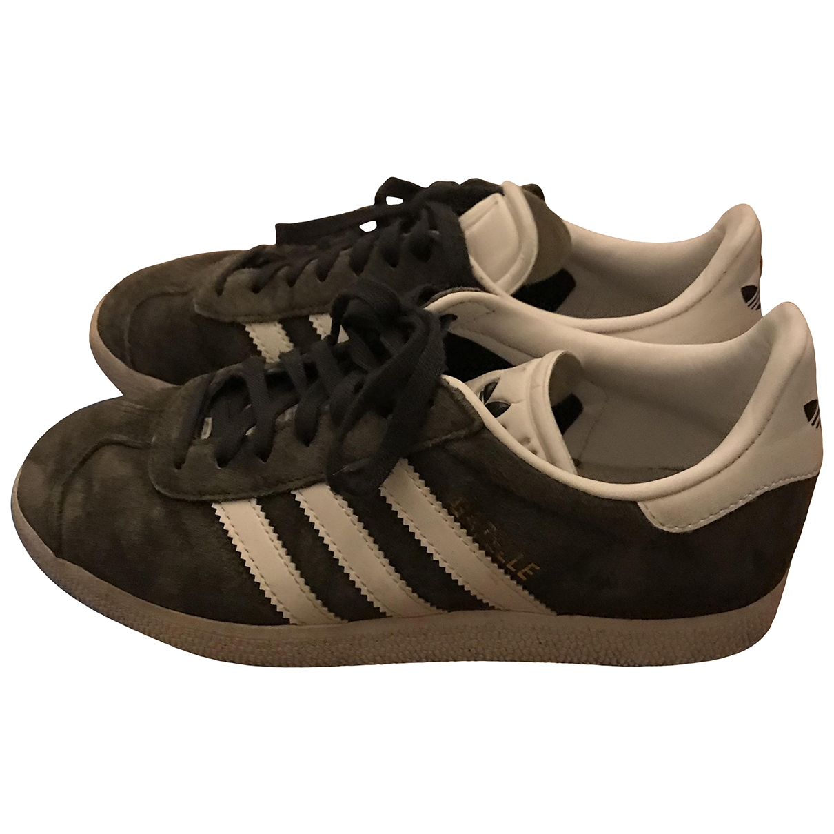 Adidas Gazelle Grey Suede Trainers for Women 36.5 EU