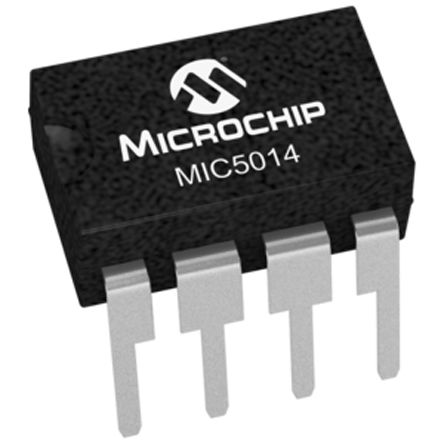 Microchip MIC5014YN High and Low Side MOSFET Power Driver 8-Pin, PDIP (5)