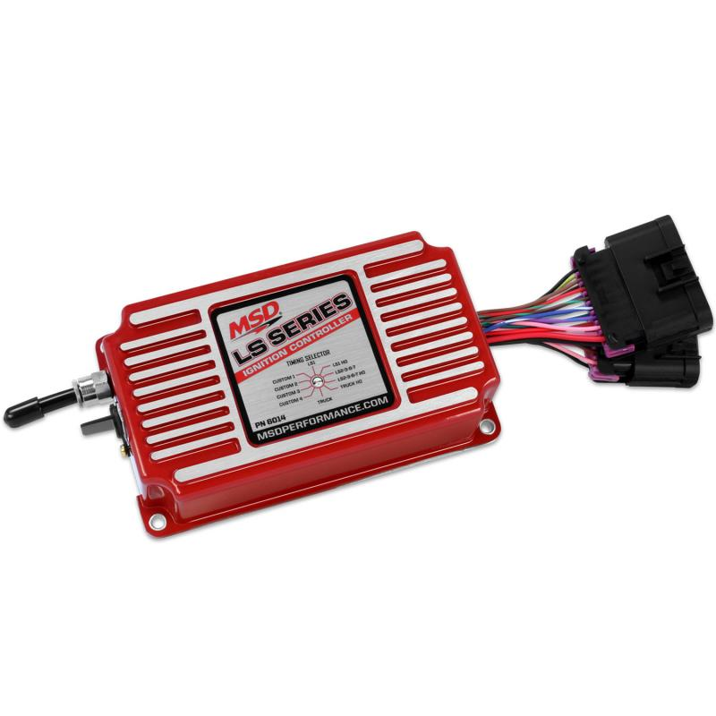 MSD Ignition 6014 control, timing/rev LS series