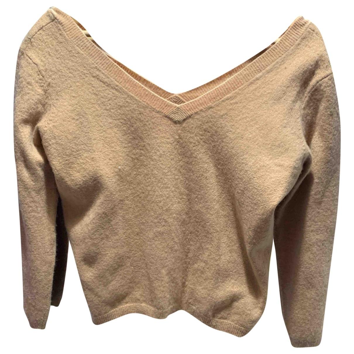 Bel Air \N Camel Cotton Knitwear for Women 40 FR