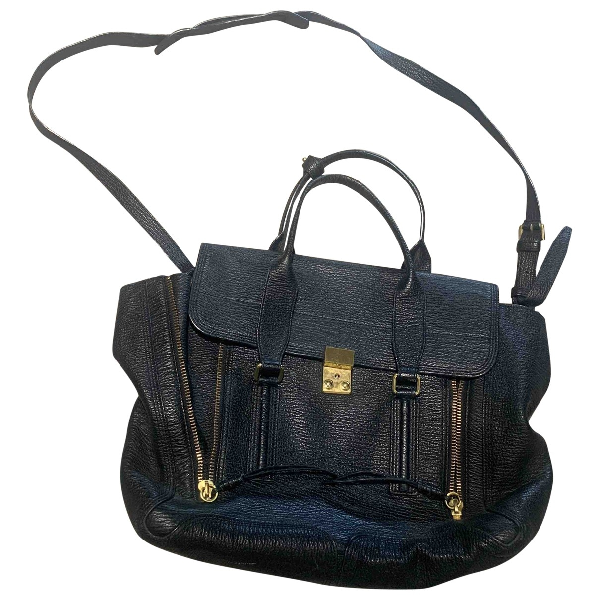 3.1 Phillip Lim Pashli Black Leather handbag for Women \N