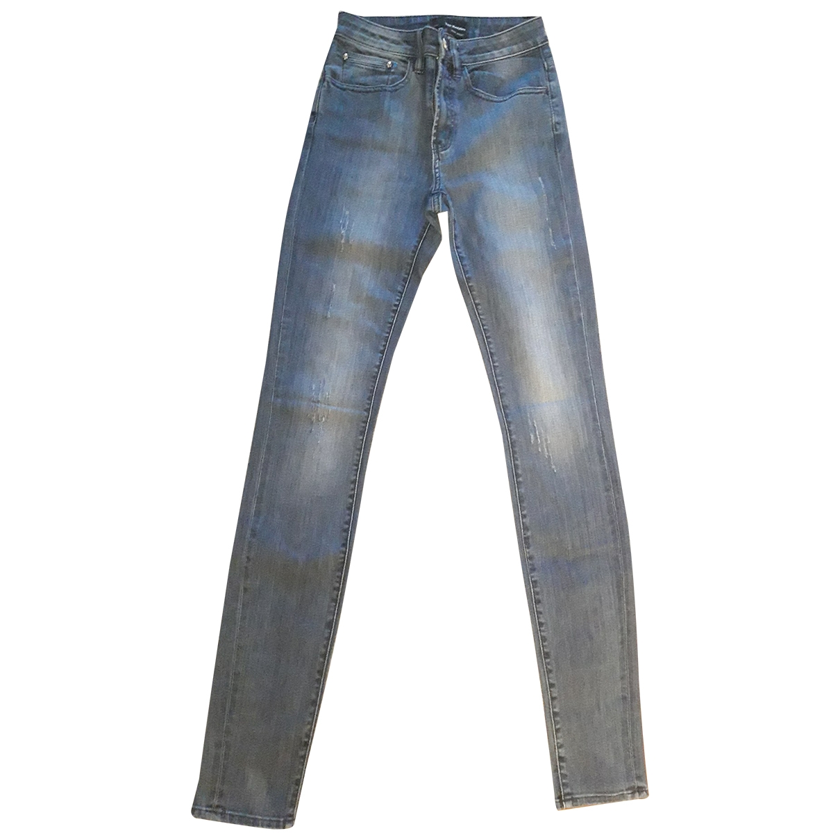 The Kooples Fall Winter 2019 Blue Cotton - elasthane Jeans for Women 24 US