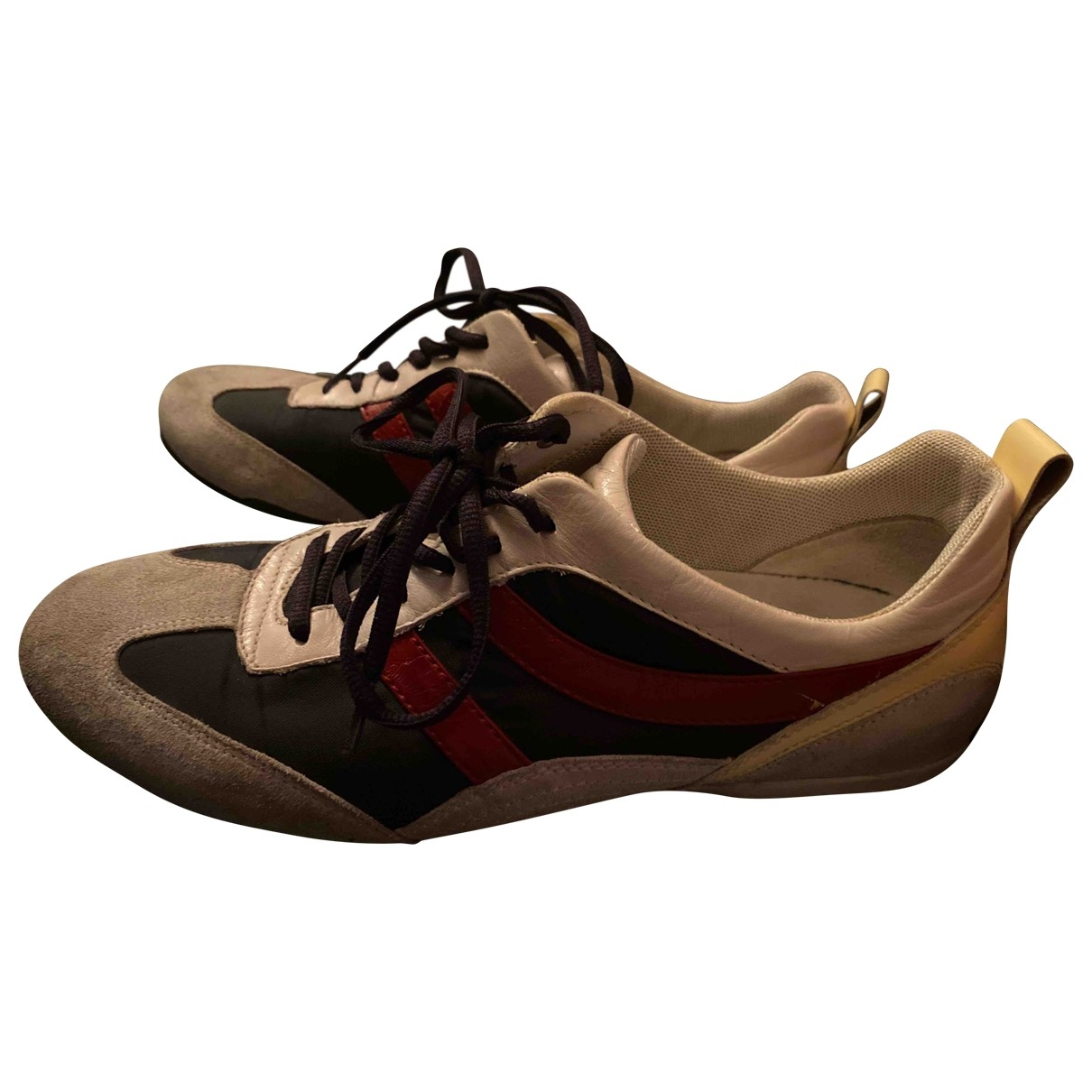 Boss \N Multicolour Suede Trainers for Men 41 EU