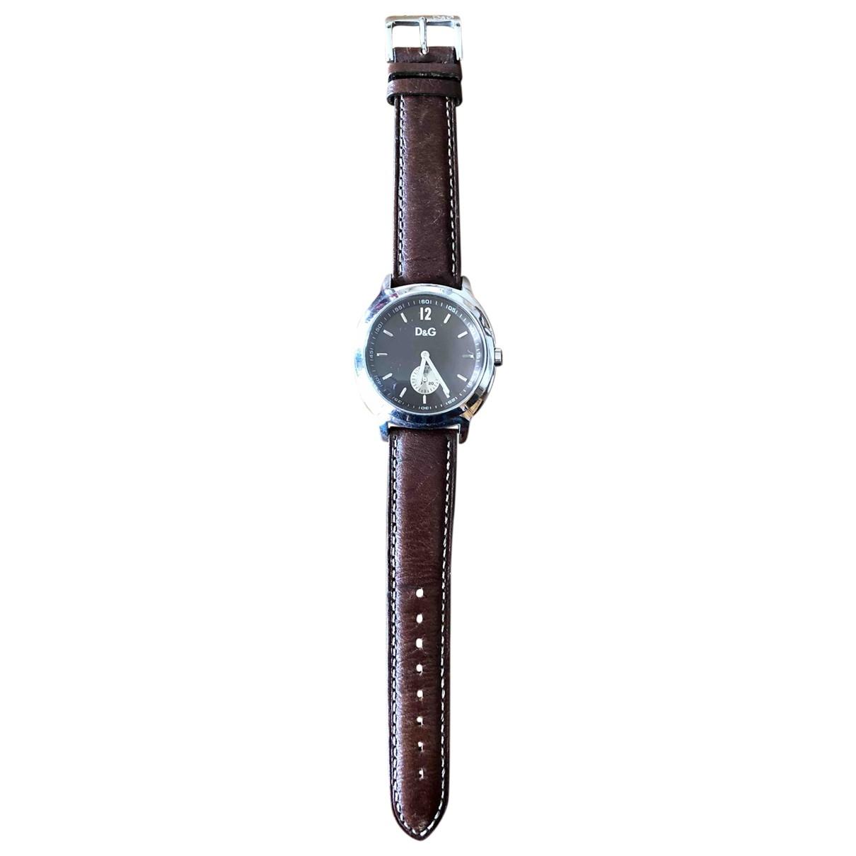 Dolce & Gabbana \N Brown Steel watch for Women \N