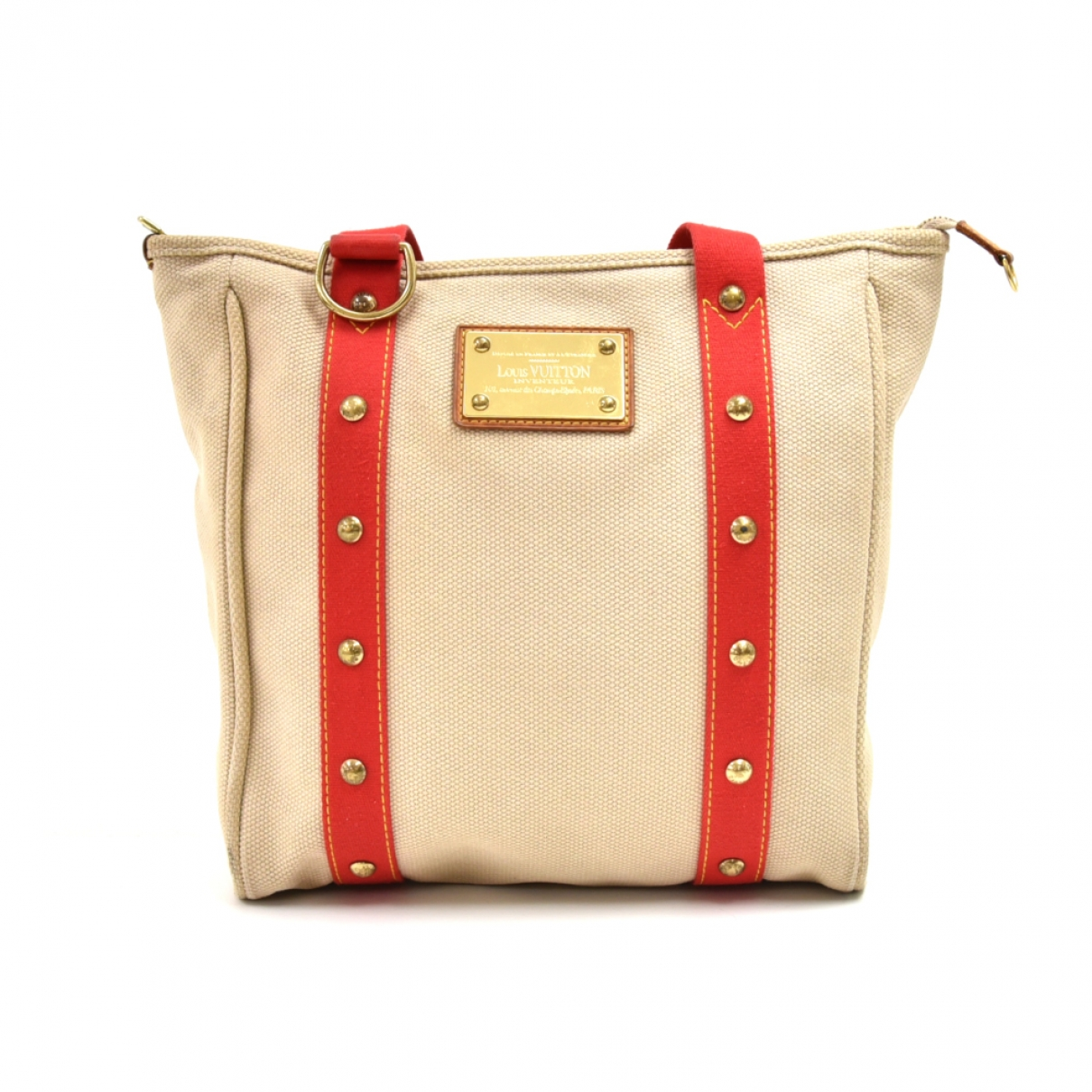 Louis Vuitton Antigua Beige Cloth handbag for Women \N