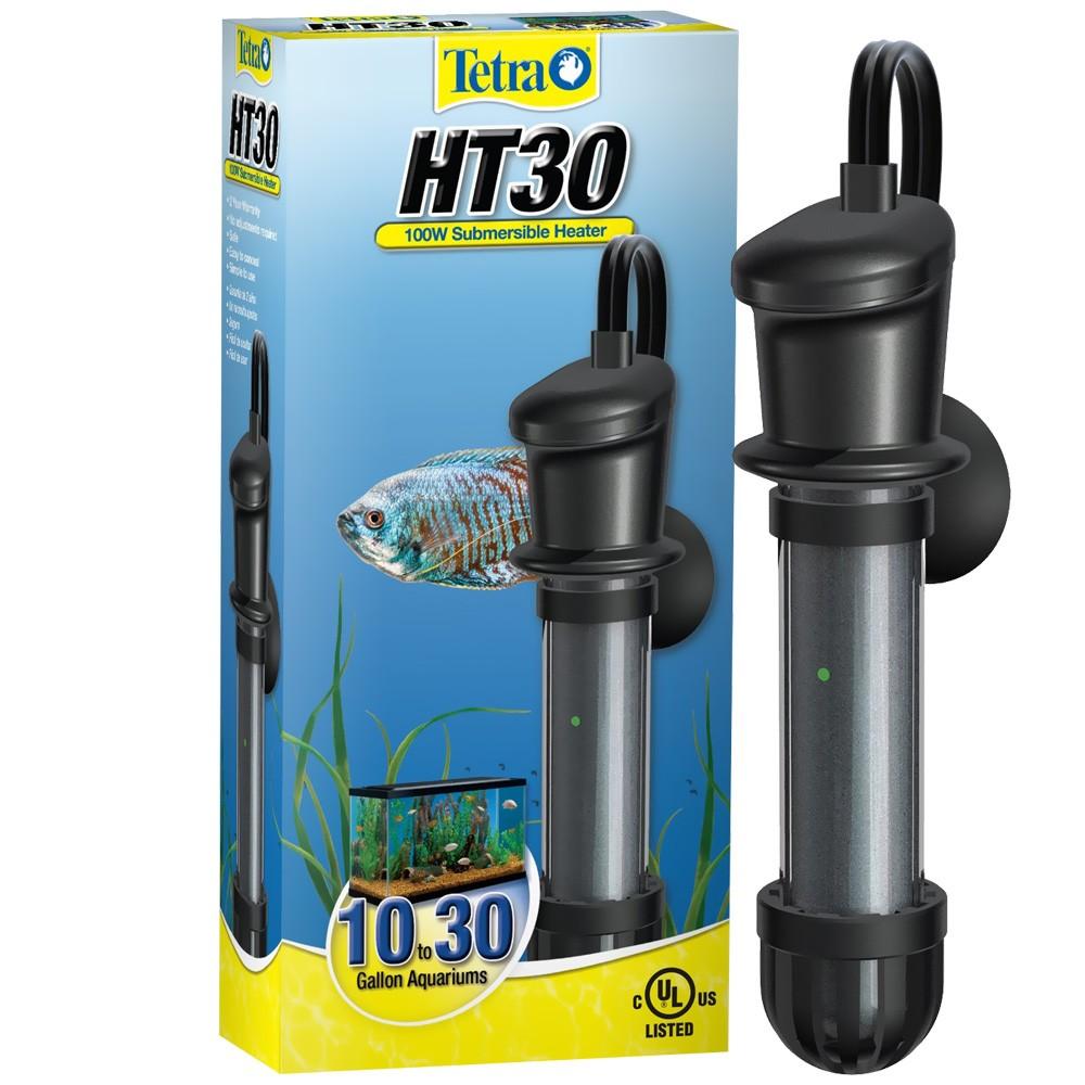 Tetra HT30 Submersible Heater 100 Watt (10-30 Gal)