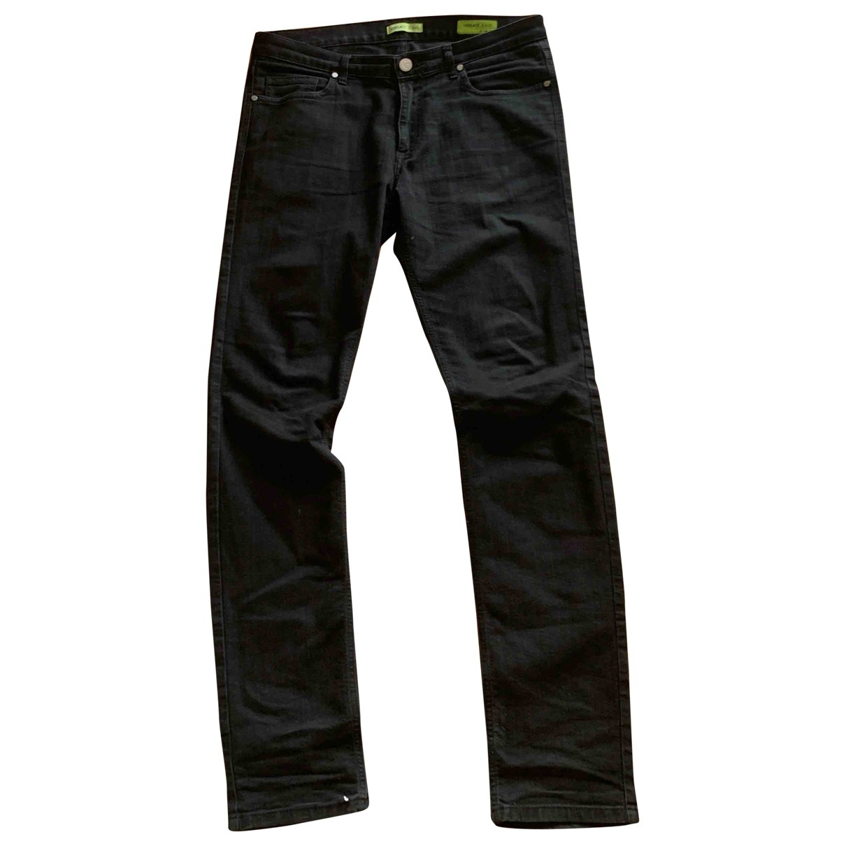 Versace Jeans \N Black Cotton Jeans for Men 36 US