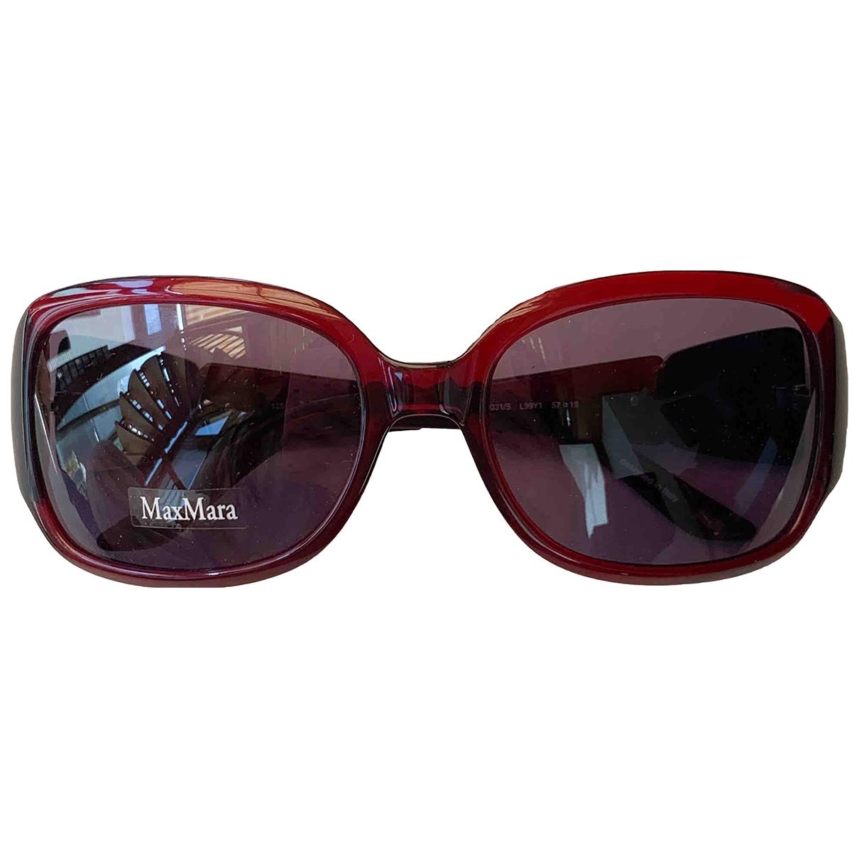 Max Mara \N Red Sunglasses for Women \N