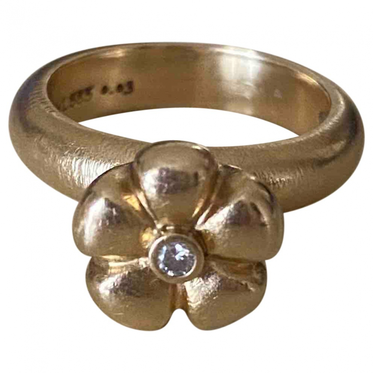Ole Lynggaard \N Gold Yellow gold ring for Women 53 EU
