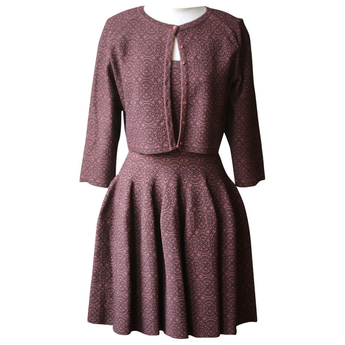 Alaïa \N Brown dress for Women 40 FR
