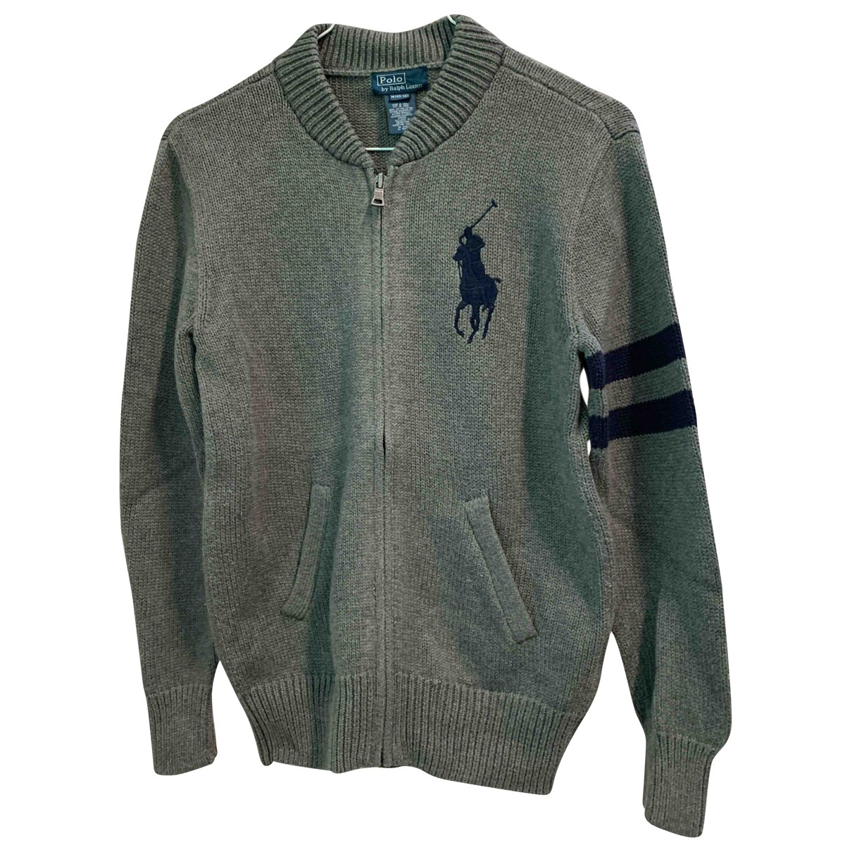 Polo Ralph Lauren \N Grey Cotton Knitwear for Kids 10 years - up to 142cm FR