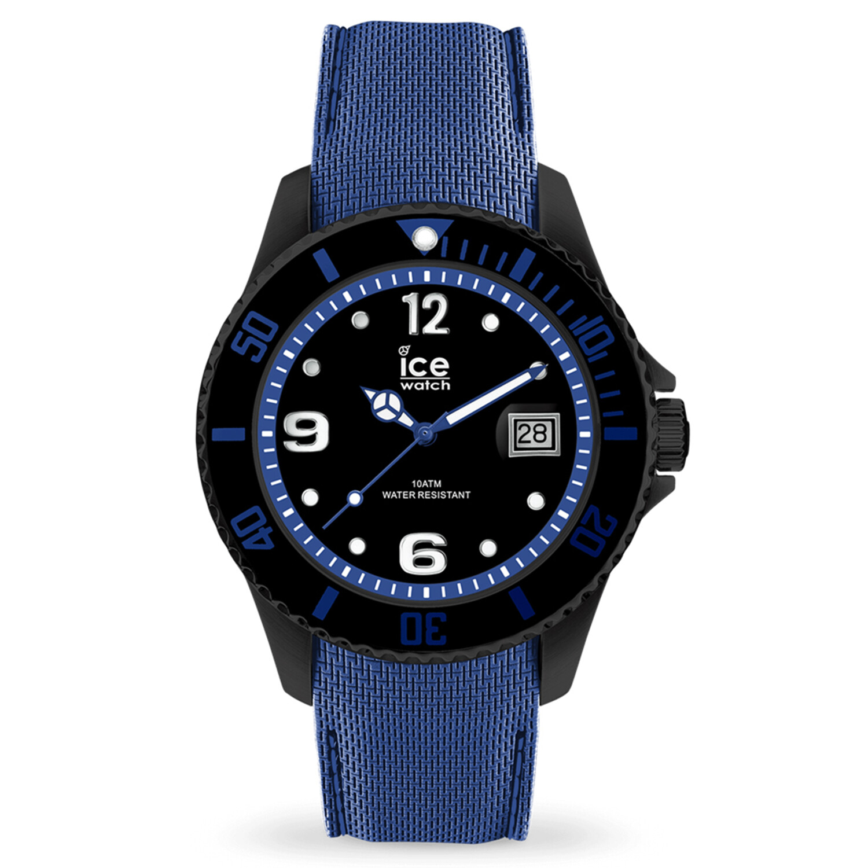 Ice-Watch Men's Steel 015783 Blue Silicone Quartz Fashion Watch