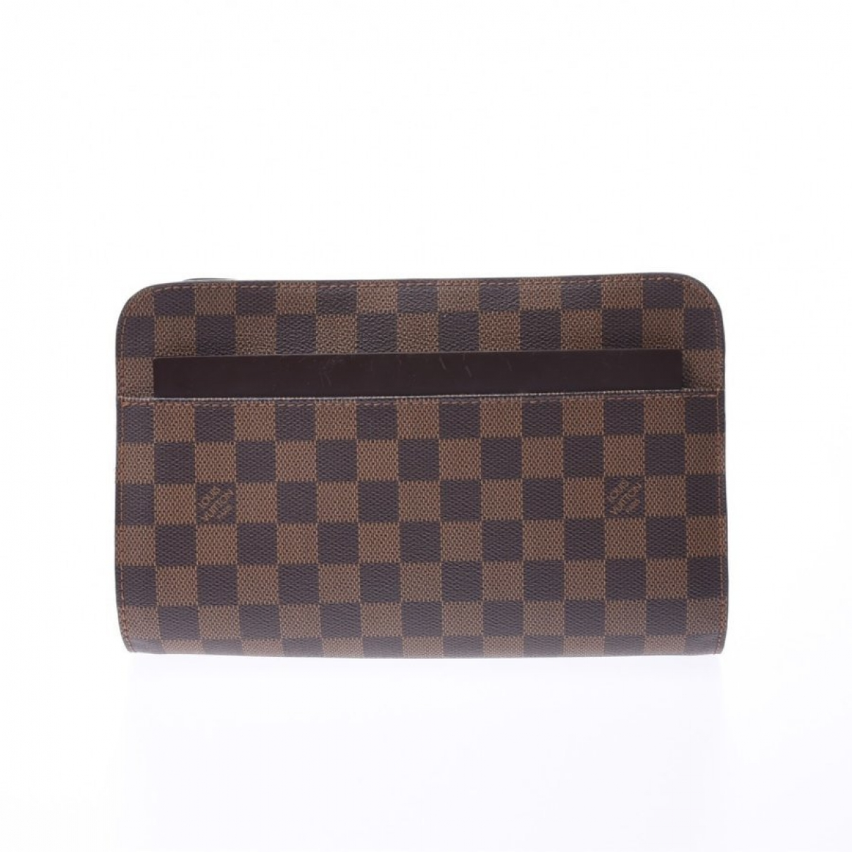 Louis Vuitton Saint-Louis Brown Cloth Clutch bag for Women \N