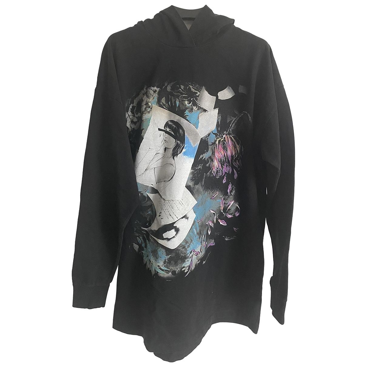 Mm6 \N Black Cotton Knitwear for Women XS International