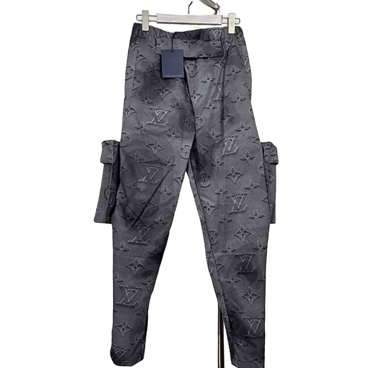 Louis Vuitton \N Grey Trousers for Men 46 IT